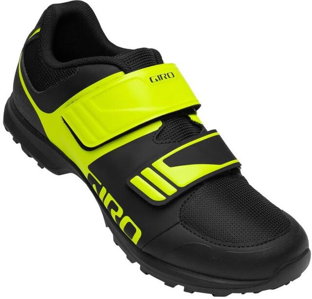 Giro Berm 19 Schuhe Herren blackcitron green
